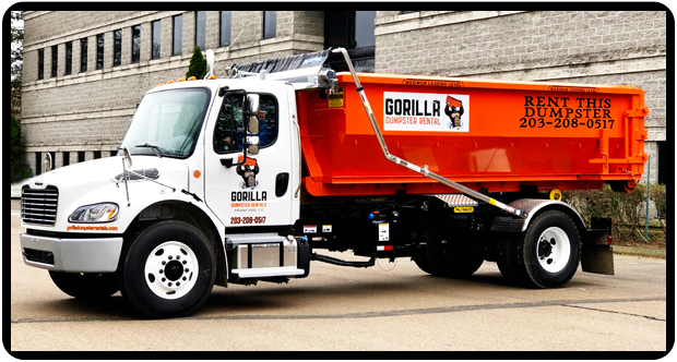 Rent a dumpster near Branford, East Haven and Guilford CT - Locally owned dumpster rental service.
