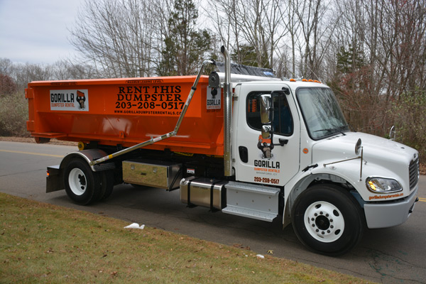 Rent a dumpster near Branford, CT from Gorilla!