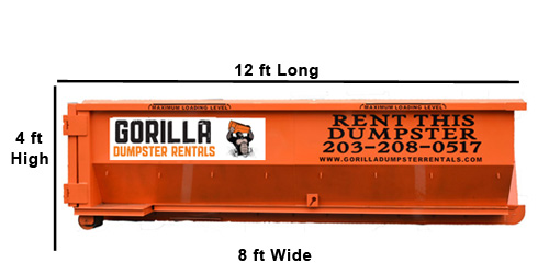 12 yard roll off dumpster from Gorilla